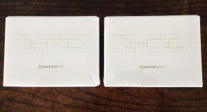 Ancestry test kits