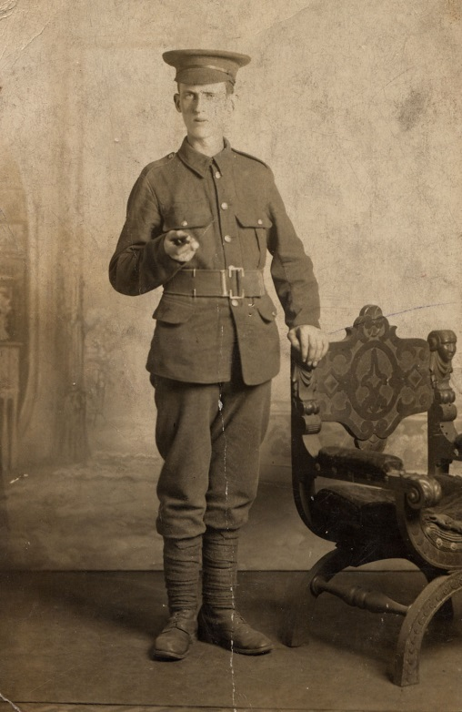 Pte Jesse Hill, 6th (Service) Battalion, The King's Own (Yorkshire Light Infantry): 13 November 1895 to 19 September 1915. Never Forgotten (1/5)