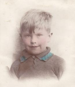 Brian Callaghan age 7