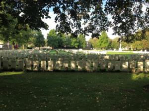 Ypres Reservoir Cemetery