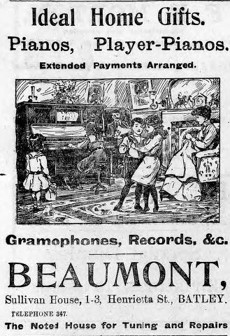 """Festive Adverts and Shopping in Batley: A 1915 Christmas – Part 1: """"The Home Beautiful"""" (4/5)"""
