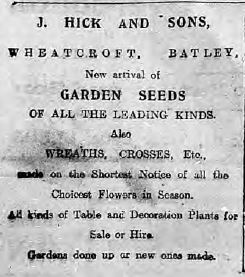 Hick advert
