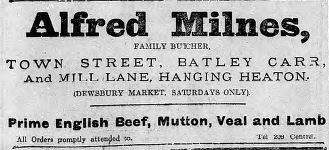 Festive Adverts and Shopping in Batley: A 1915 Christmas – Part 3: Food for Man and Beast (5/6)