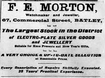 Festive Adverts and Shopping in Batley: A 1915 Christmas – Part 2: Gifts Galore for Man, Woman and Child (3/6)