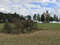 The area of the Pope's Nose, and the observation post with Ulster Tower in the background - photo by Jane Roberts