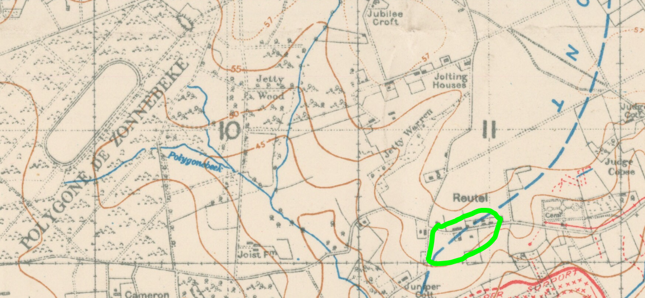 Sorby - George Henry Trench Map 2